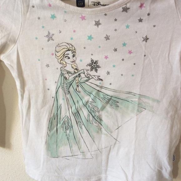 Disney Other - Disney Baby Gap Frozen Elsa Long Sleeve Tee
